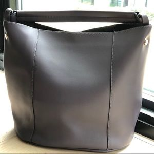 A New Day (Target) Purple Grey Large Bucket Bag